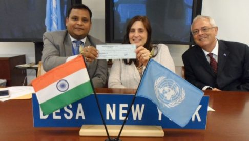 India contributes 1 million to UN Fund