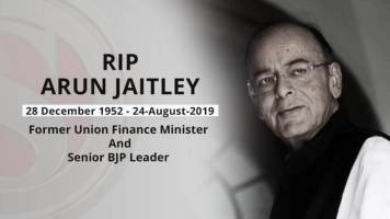 Arun Jaitley, Senior BJP Leader and Former financial Minister, Dies At 66
