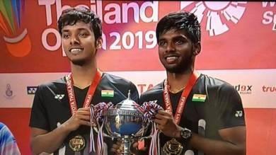 Thailand Open: Satwiksairaj, Chirag 1st Indian doubles pair to win Super 500 title