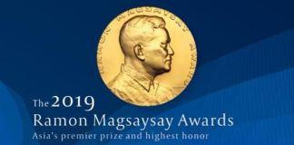 Ramon Magsayasay Award 2019