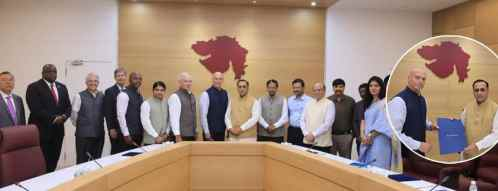 Gujarat government signs Sister State MoU with American State Delaware