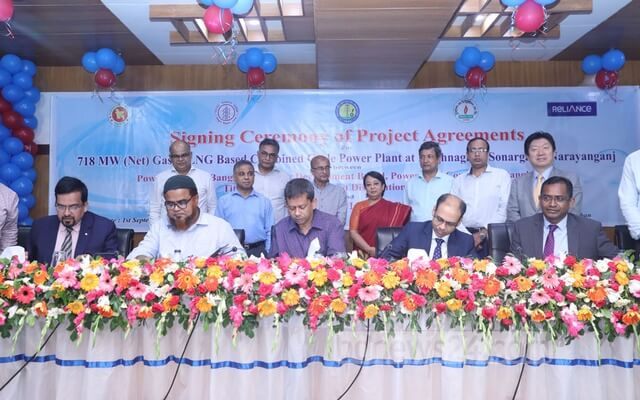 Bangladesh signs agreement with India's Reliance Power for gas-based power Plant