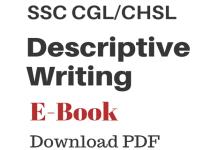 Descriptive Writing for SSC blog