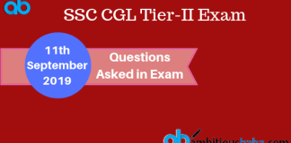Questions asked in ssc cgl tier 2