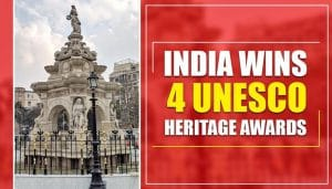 India wins four UNESCO heritage awards