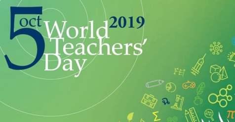 5th October: World Teachers Day