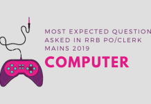computer questions for rrb po mains