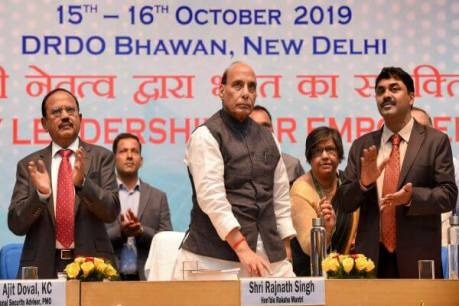 Defence Minister Rajnath Singh inaugurates 41st DRDO Directors Conference in New Delhi