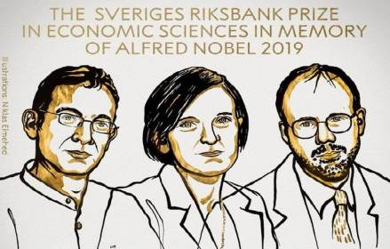 Abhijit Banerjee, Esther Duflo and Michael Kremer to receive Economics Nobel