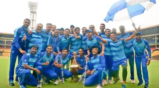 Karnataka beat Tamil Nadu in rain-shortened Vijay Hazare Trophy final