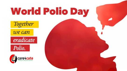24th October: World Polio Day