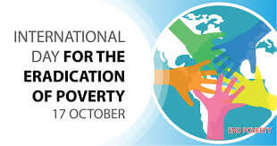 17th October: International Day for the Eradication of Poverty