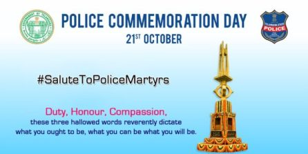 21st October: Police Commemoration Day 2019