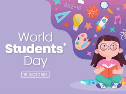 October 15: World Students Day
