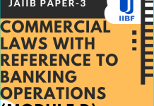 Blog Commercial Laws with reference to Banking Operations (Module D)