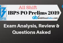 IBPS PO Prelims 2019 (1)