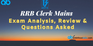 RRB CLerk Mains