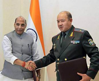 India, Uzbekistan sign three defence MoUs