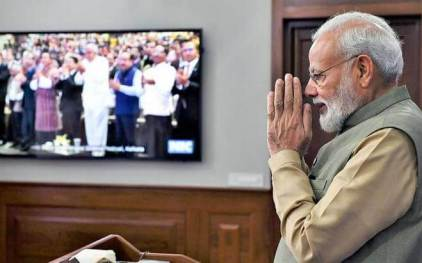 PM Modi inaugurates 5th India International Science Festival