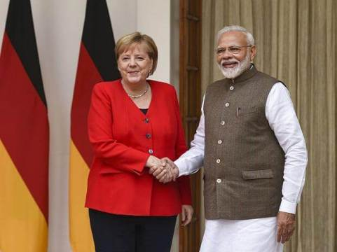 India and Germany sign 20 MoUs
