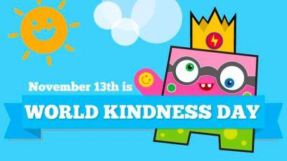 13th November: World Kindness Day