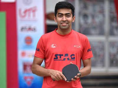 Harmeet won Indonesia Open TT Championship
