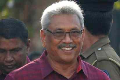 Gotabaya Rajapaksa to be sworn in as new President of Sri Lanka