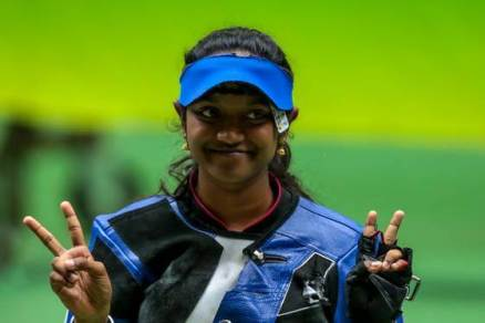 ISSF WC Final: Manu, Elavenil, Divyansh treat India to triple gold