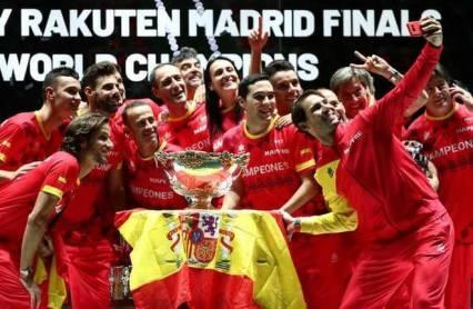 Rafael Nadal won 6th Davis Cup title