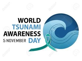 5th November: World Tsunami Awareness Day 2019