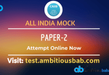 All India Mock Paper 2 CAIIB