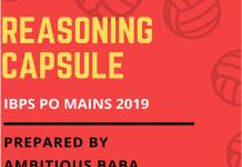 Reasoning Capsule