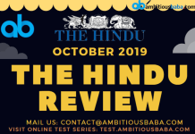 The Hindu October PDF Blog