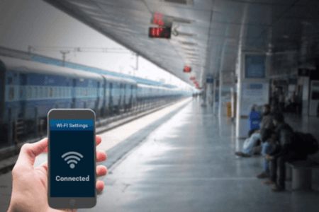 Railways 'RailWire' Wi-Fi goes in 5500 Railway Stations