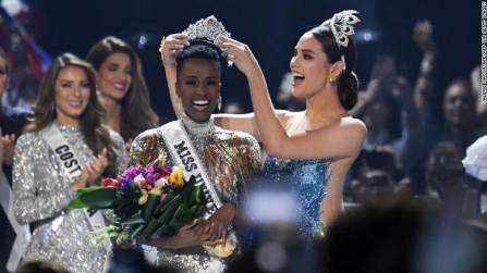 Miss Universe 2019 winner is Miss South Africa Zozibini Tunzi