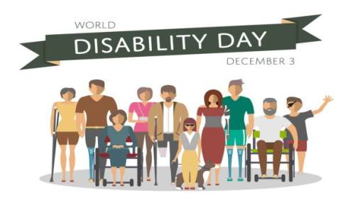 3rd December: World Disability Day 2019
