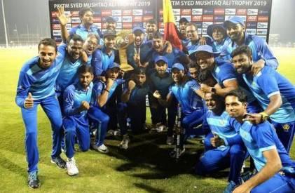 Karnataka won Syed Mushtaq Ali title