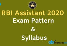 RBI Assistant Exam Pattern and Syllabus