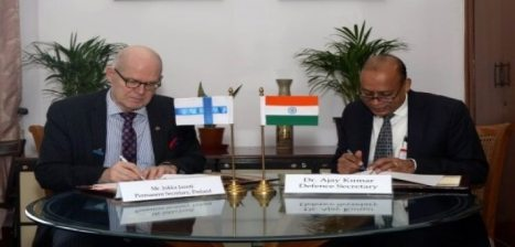 India and Finland ink MoU to enhance bilateral defence cooperation
