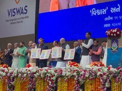 Home Minister Amit Shah digitally launches project VISHWAS and CYBER AASHVAST
