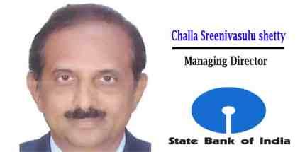 Challa Sreenivasulu Setty appointed managing director of SBI
