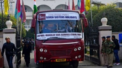 India, Myanmar signed MoU for bus services from Mandalay-Imphal