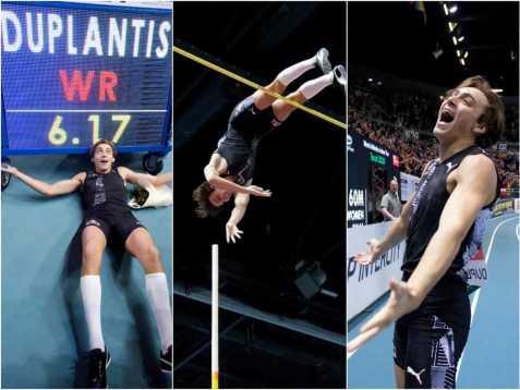 Armand Duplantis breaks Pole Vault World Record