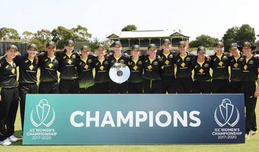 Australia Win ICC Women's Championship Trophy For Second Time in a Row