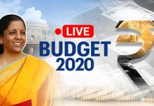 Live Union Budget 2020-21 by AB