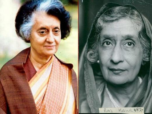 TIME named 100 historical Women of the Year including Amrit Kaur, Indira Gandhi