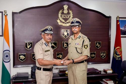 ITBP chief SS Deswal given additional charge of BSF DG