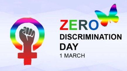 1st February: Zero Discrimination Day 2020