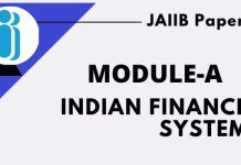 Indian finance system Paper-1 Module-A
