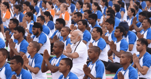 """Prime Minister announces """"My Life My Yoga"""" Video Blogging contest"""